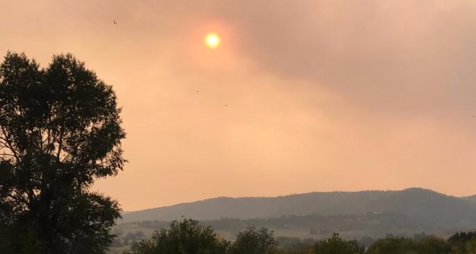 Deep Creek Wild Fire September 2017