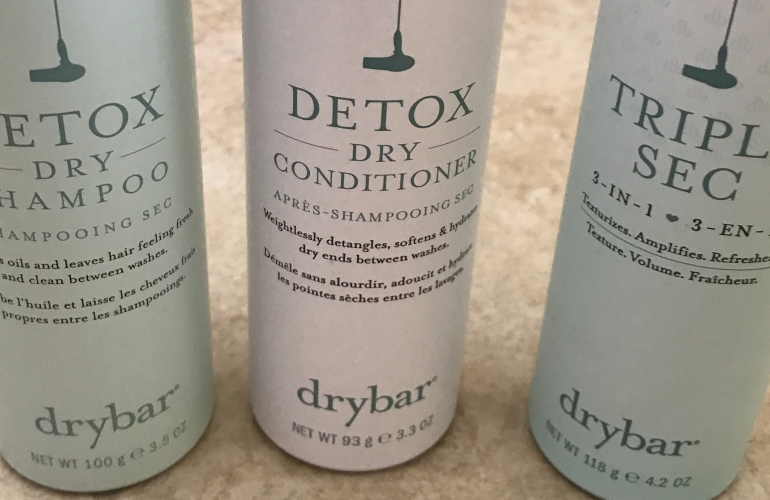 Dry Shampoo Dry Bar Conditioner and Triple Sec