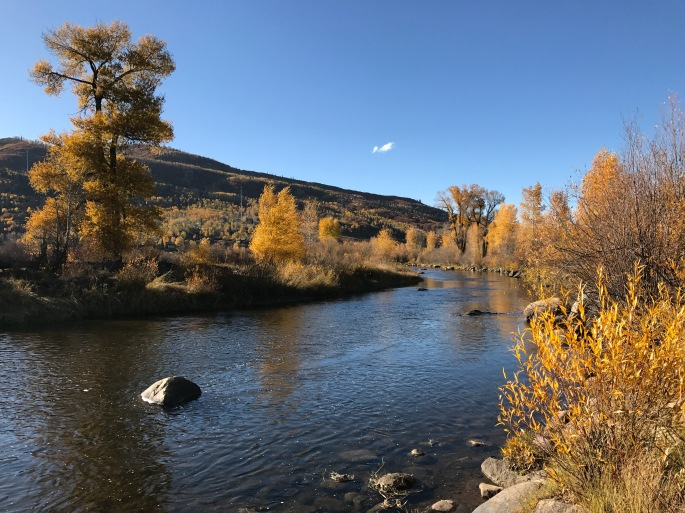 October Steamboat Fall Yampa River