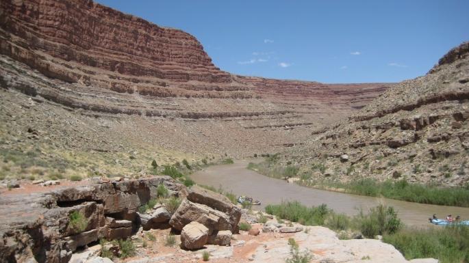 San Juan Raft Trip Kick Off to summer May 2017 Utah