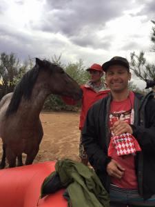 San Juan Raft Trip Utah Horse