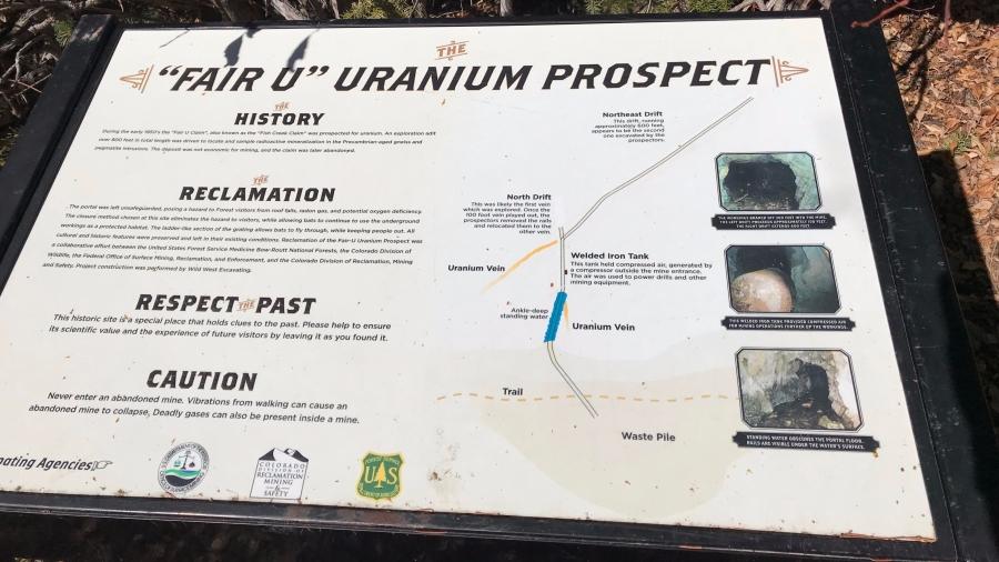 Uranium Mine Hike Steamboat Springs, CO