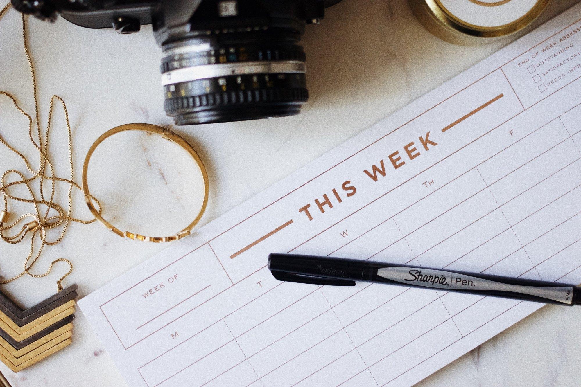 This Week schedule image